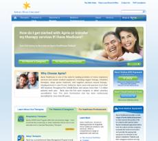 Apria website history