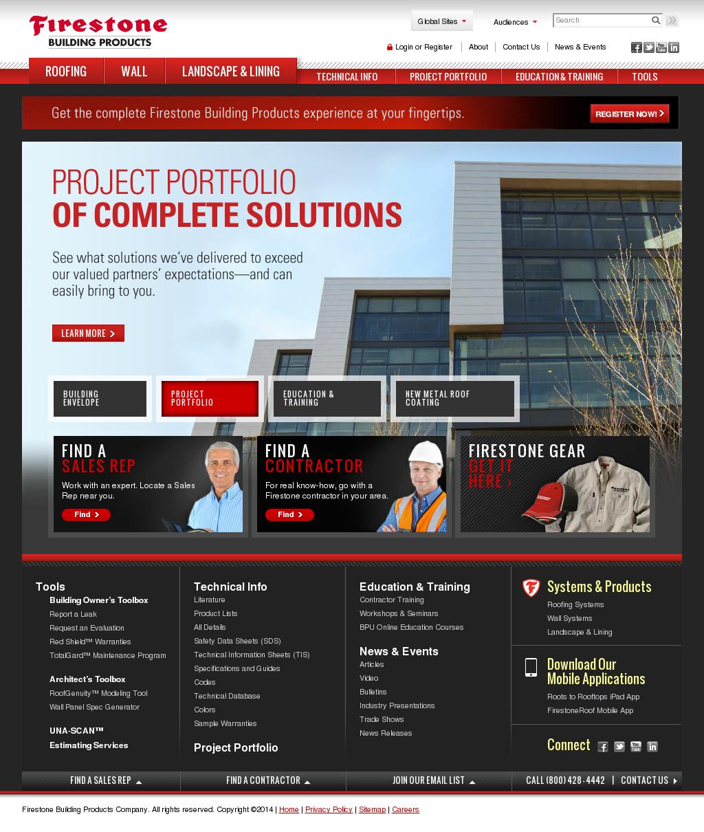 firestone building products company profile owler. Black Bedroom Furniture Sets. Home Design Ideas