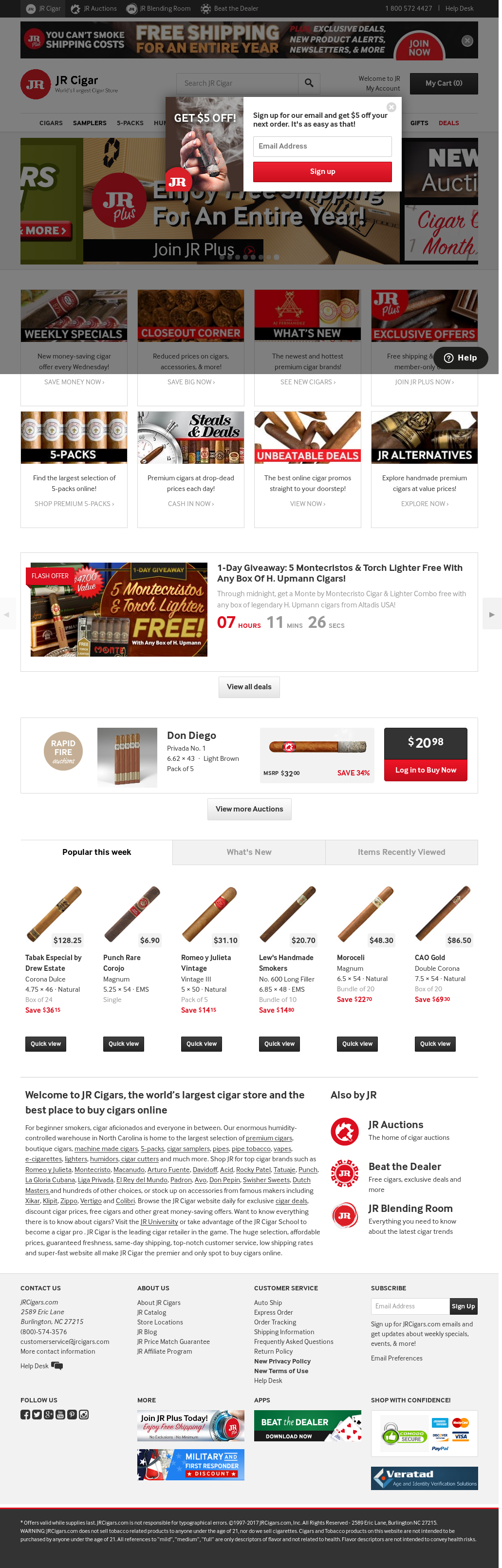 JR Cigars Competitors, Revenue and Employees - Owler Company