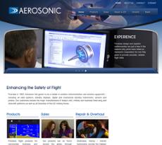 Aerosonic website history