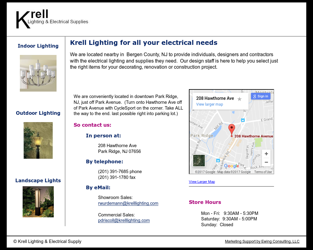 Krell Lighting u0026 Electrical Supply website history  sc 1 st  Owler & Krell Lighting u0026 Electrical Supply Competitors Revenue and ...
