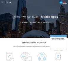 Softweb Solutions website history