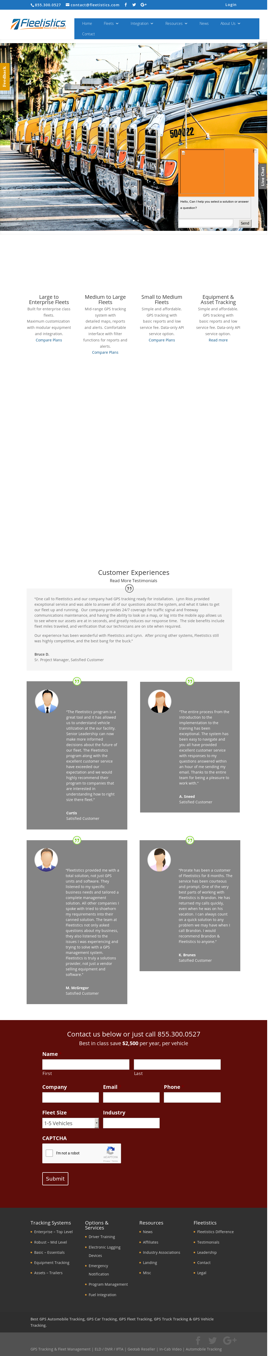 Fleetistics Competitors, Revenue and Employees - Owler