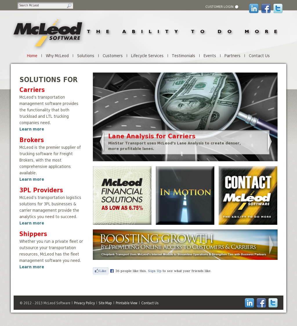 McLeod Competitors, Revenue and Employees - Owler Company
