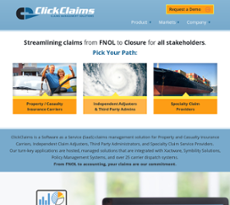 ClickClaims website history