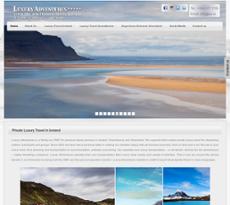 Luxury Adventures website history