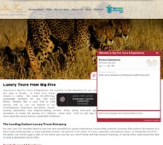 Big Five website history