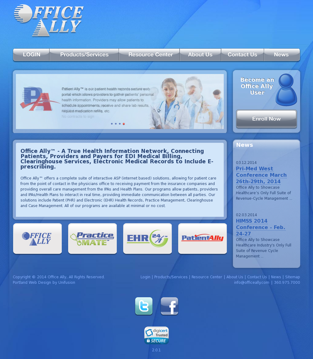 Office Ally Ehr Login >> Office Ally