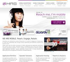24MAS website history