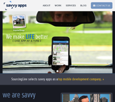 Savvy Apps website history