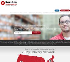 Rakuten website history