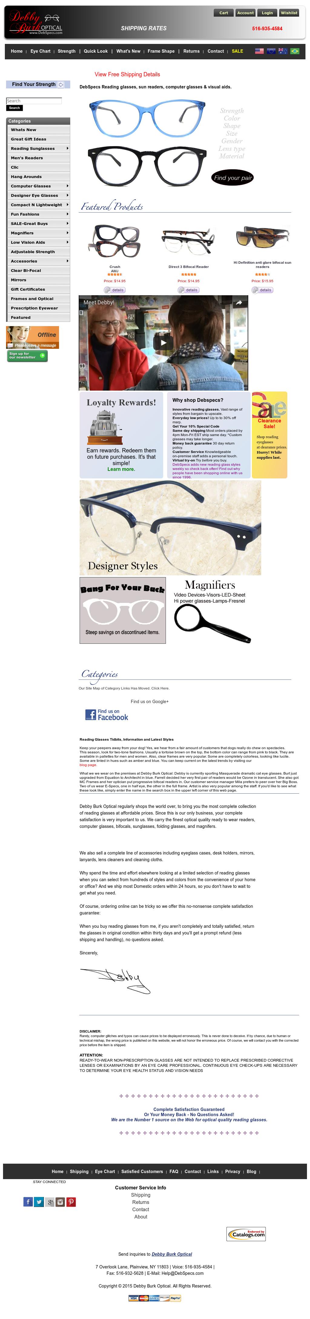 3911c763fade Deb Specs Competitors, Revenue and Employees - Owler Company Profile