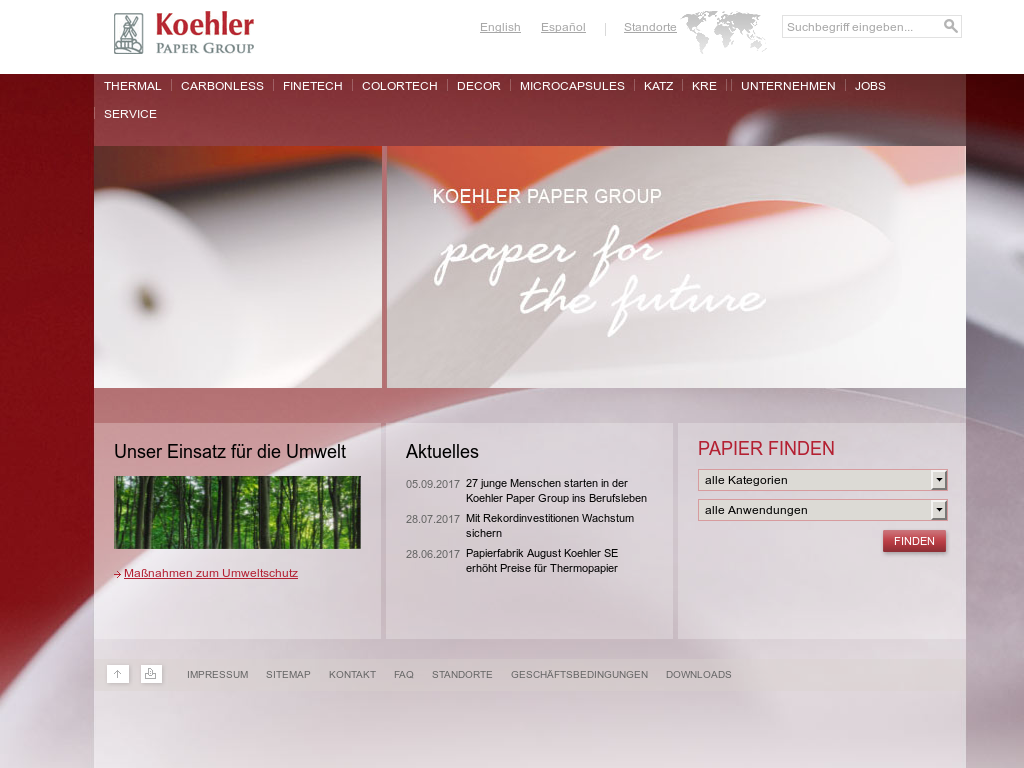 Koehler Paper Competitors, Revenue and Employees - Owler Company Profile