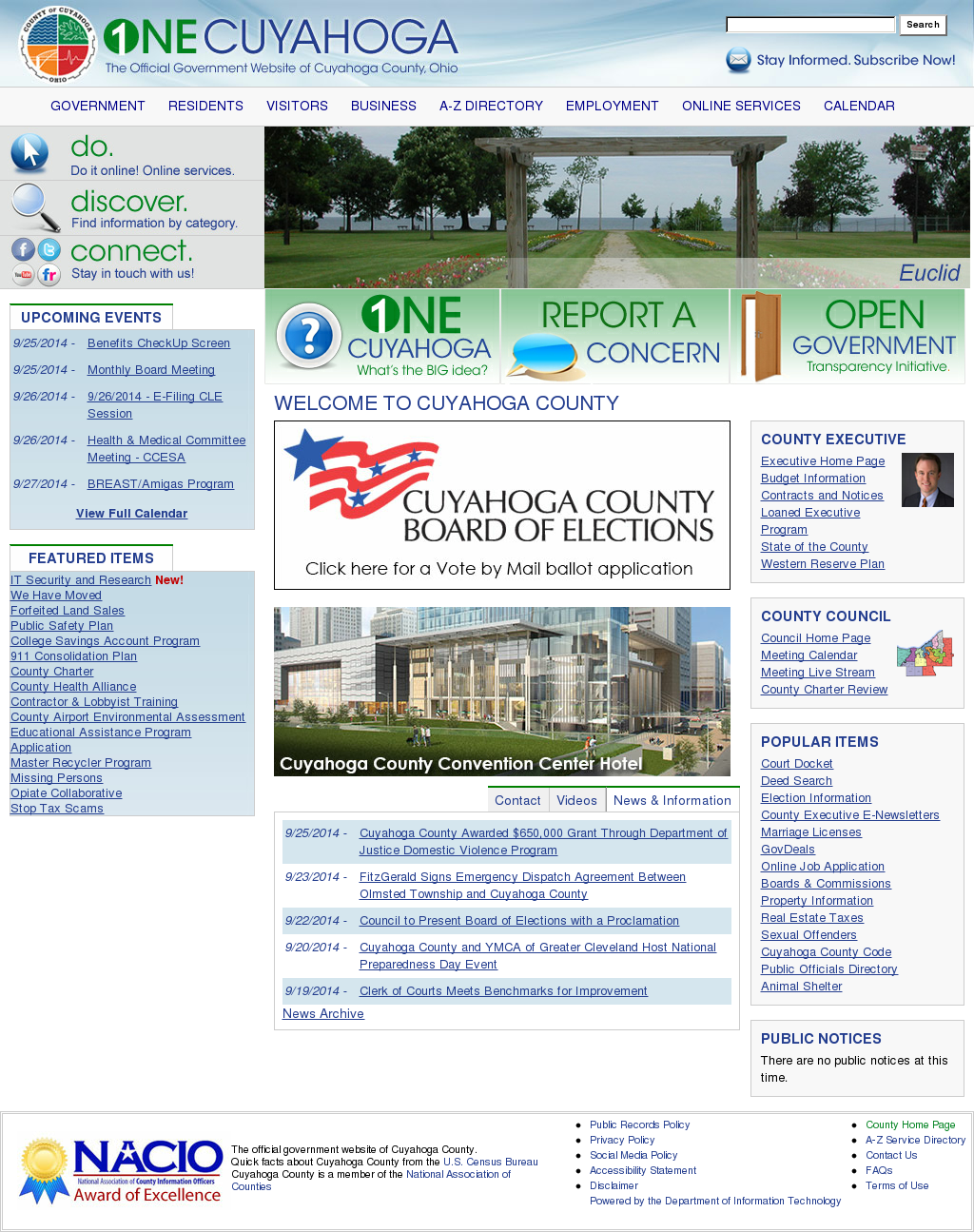 Cuyahoga County Competitors, Revenue and Employees - Owler Company