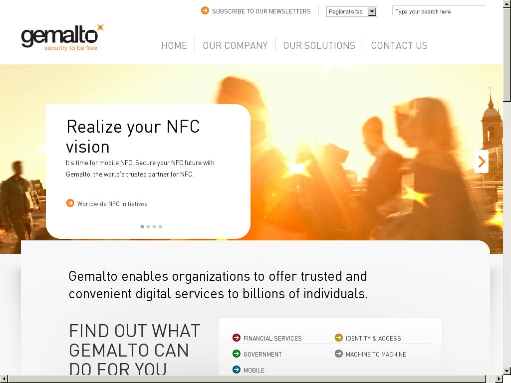Gemalto Competitors, Revenue and Employees - Owler Company Profile
