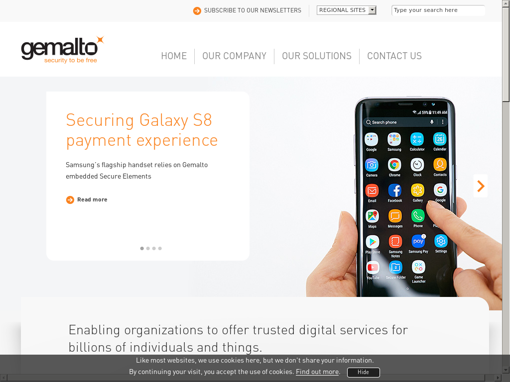 Gemalto Competitors Revenue And Employees Owler Company Profile Remote Starter Installation Video By Bulldog Security Youtube Website History