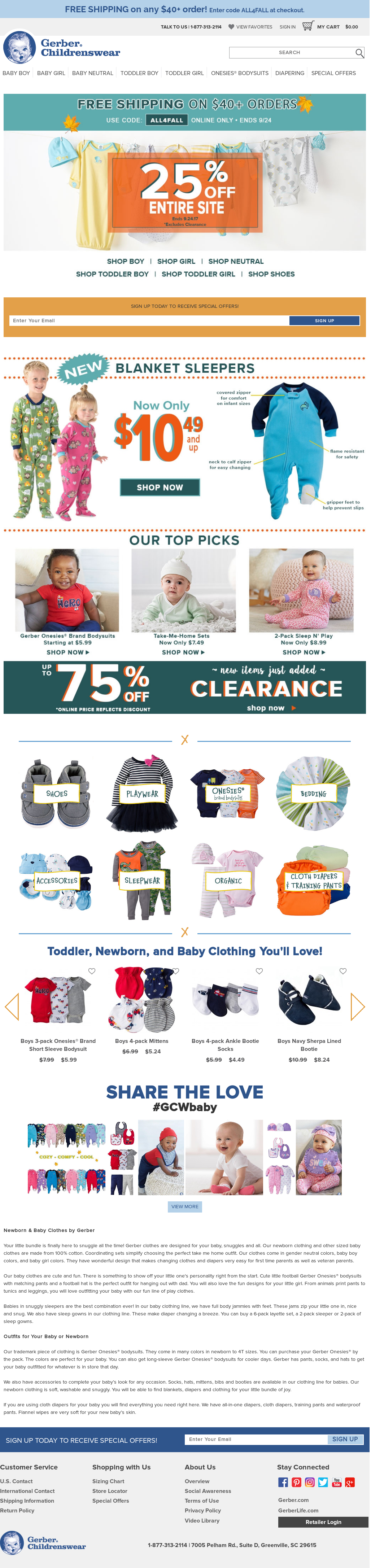 Gerber Childrenswear Competitors, Revenue and Employees - Owler ...