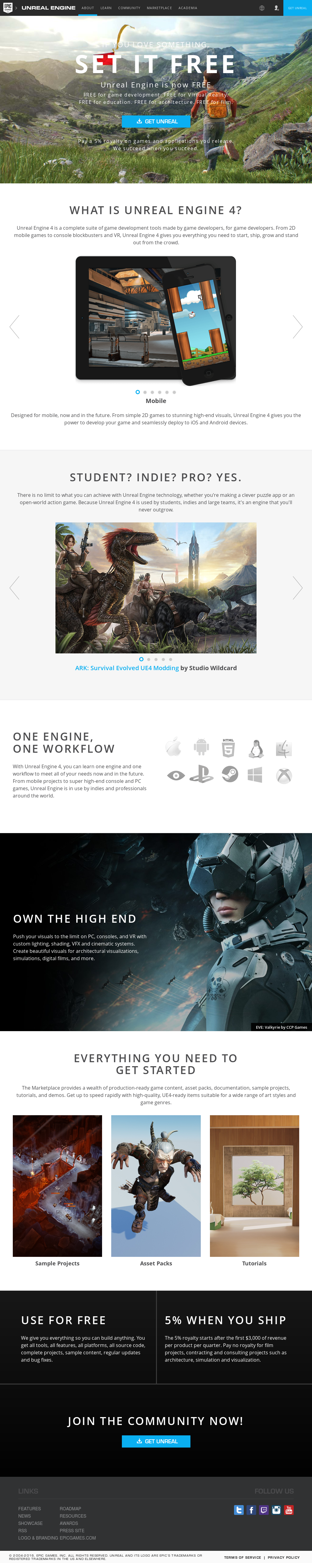 Unreal Engine Competitors, Revenue and Employees - Owler