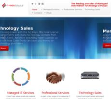 CyberTrails website history