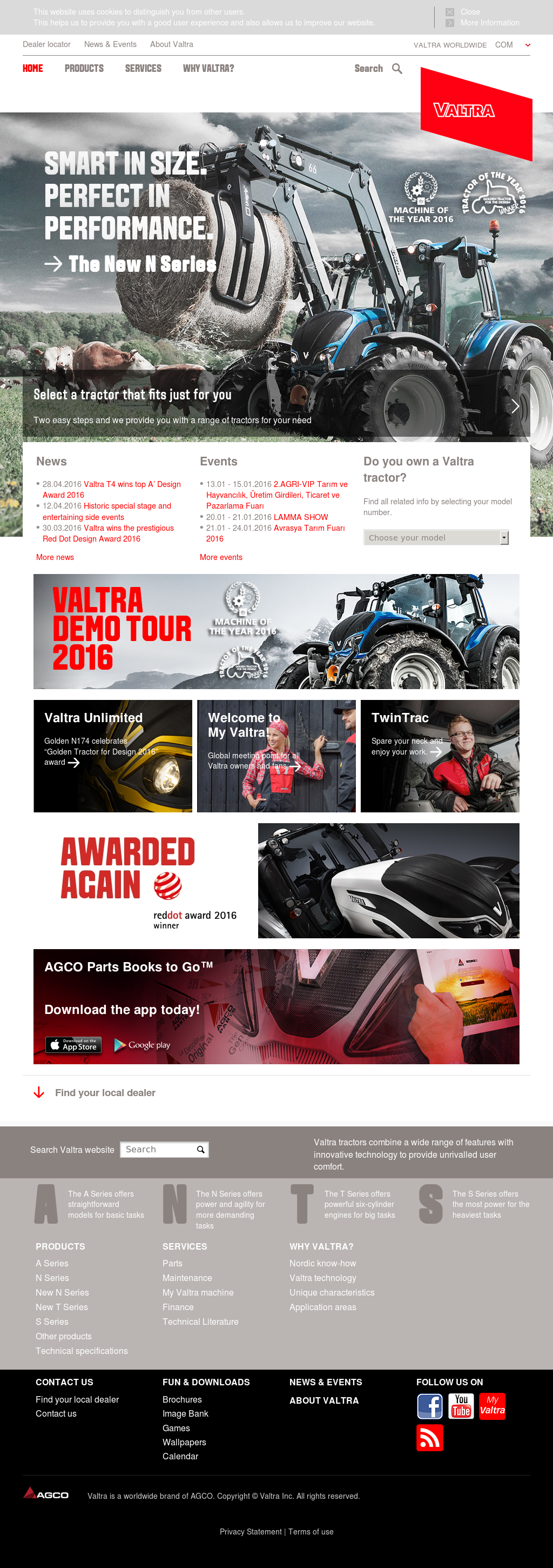 Valtra Competitors, Revenue and Employees - Owler Company Profile