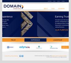 Domain website history