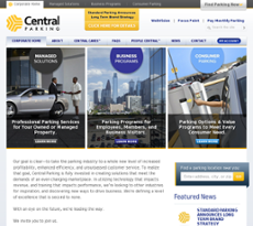 Central website history
