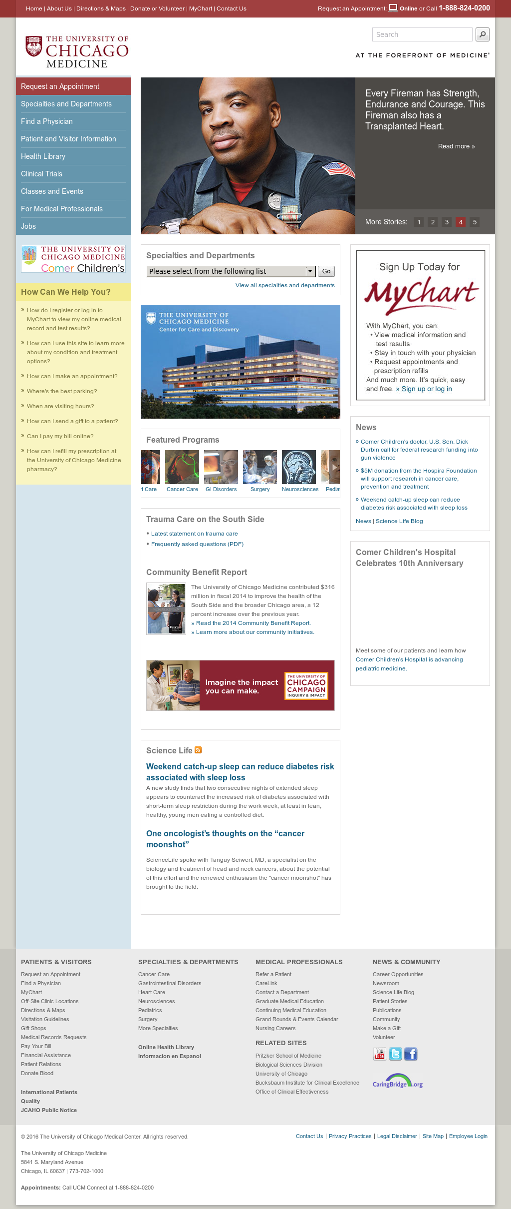 The University Of Chicago Medicine Compeors Revenue And Employees Owler Company Profile