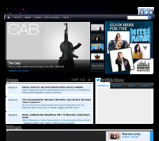 EMI Music website history