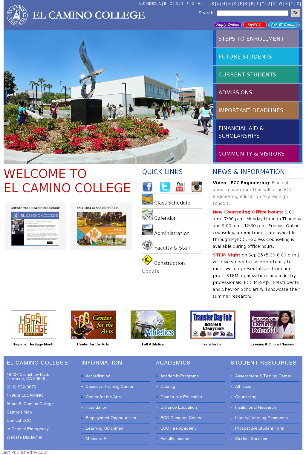 El Camino College >> El Camino College Competitors Revenue And Employees Owler