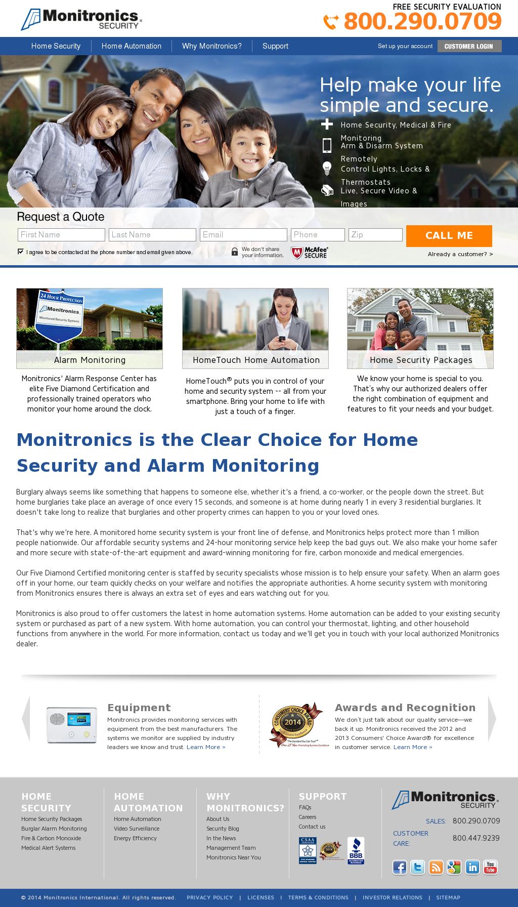 Monitronics Competitors, Revenue and Employees - Owler Company Profile