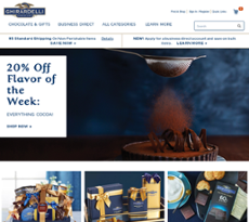 Ghirardelli website history