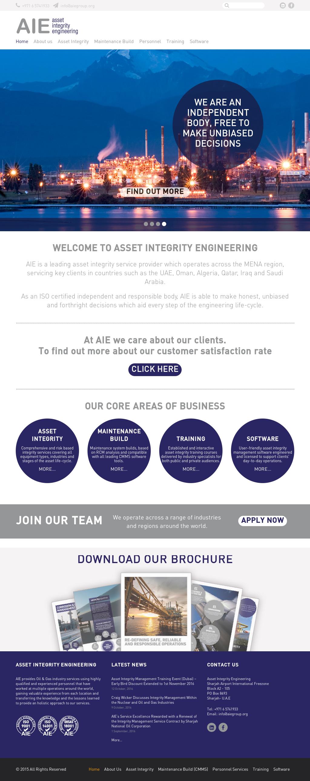 Assetintegrityengineering Competitors, Revenue and Employees
