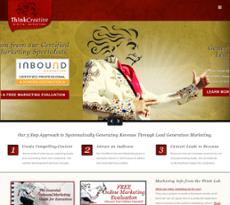 Think Creative website history