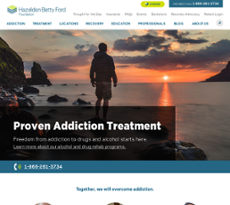 Hazelden Betty Ford Foundation website history