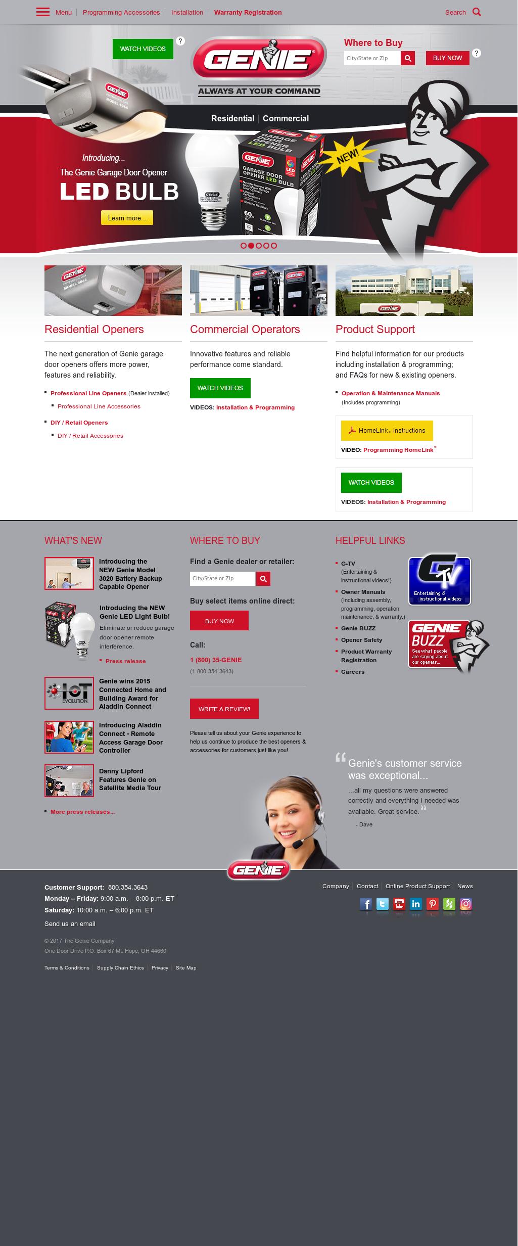 Genie Company Competitors Revenue And Employees Owler Profile Chamberlain Garage Door Opener Wiring Diagram Pro 88 Website History