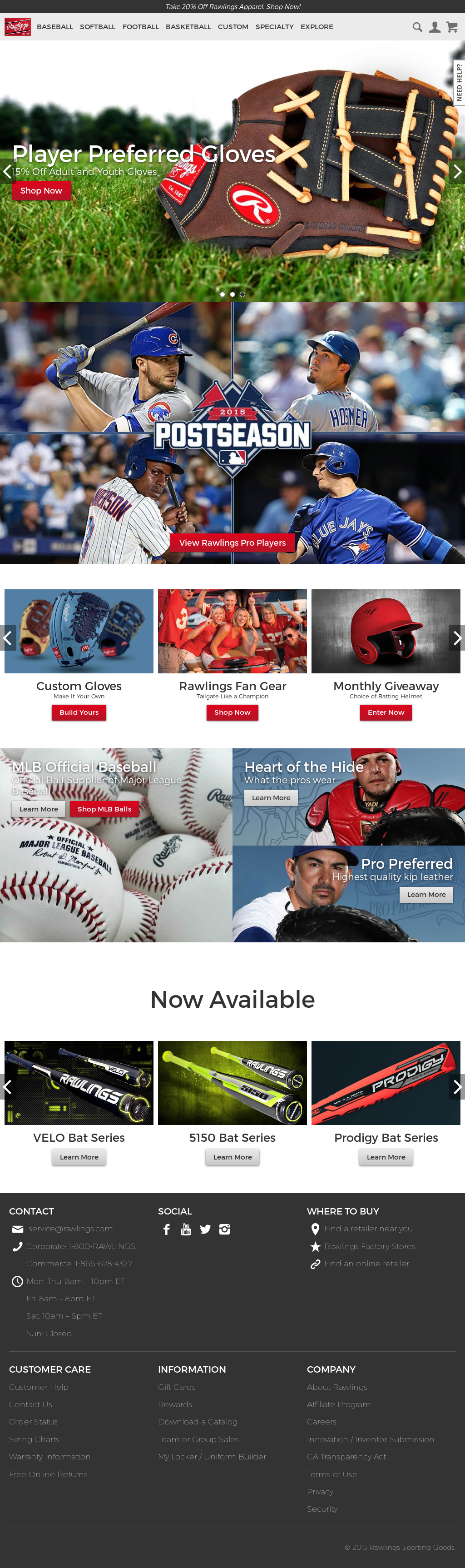 Rawlings Sporting Goods Company Competitors, Revenue and