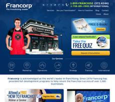 Francorp website history