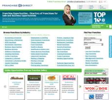 Franchise Direct website history