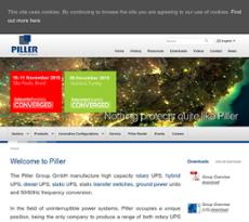 Piller website history