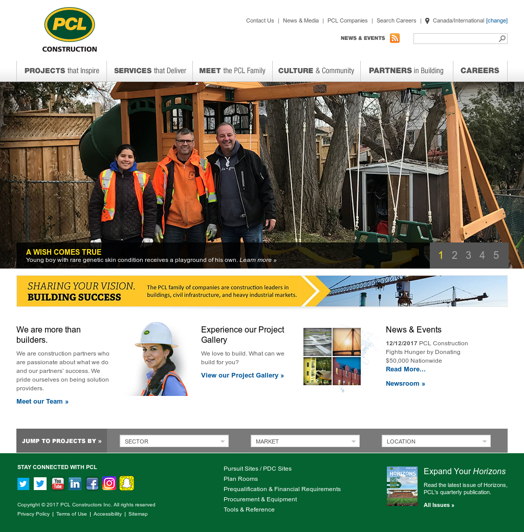 PCL Construction Competitors, Revenue and Employees - Owler