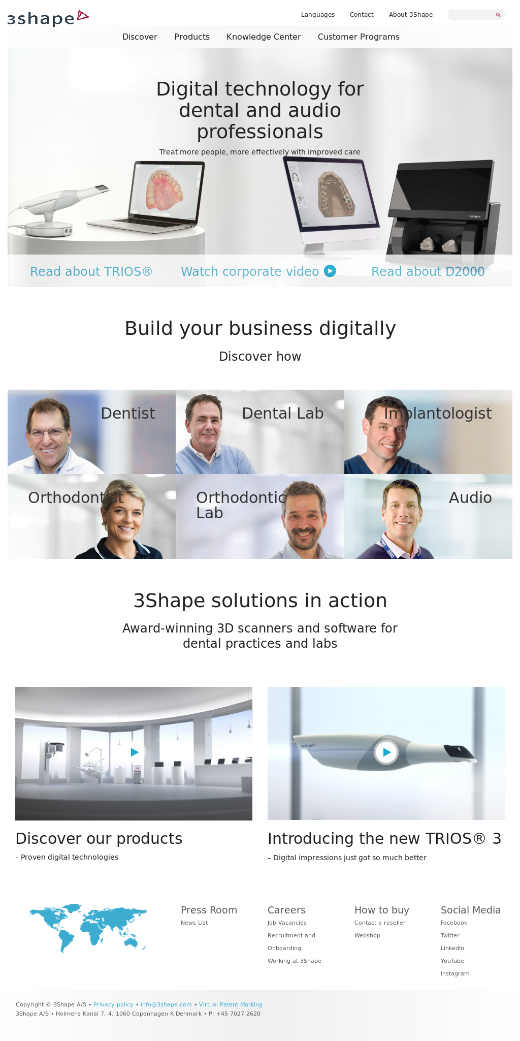 3Shape Competitors, Revenue and Employees - Owler Company