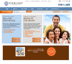 Sterling website history