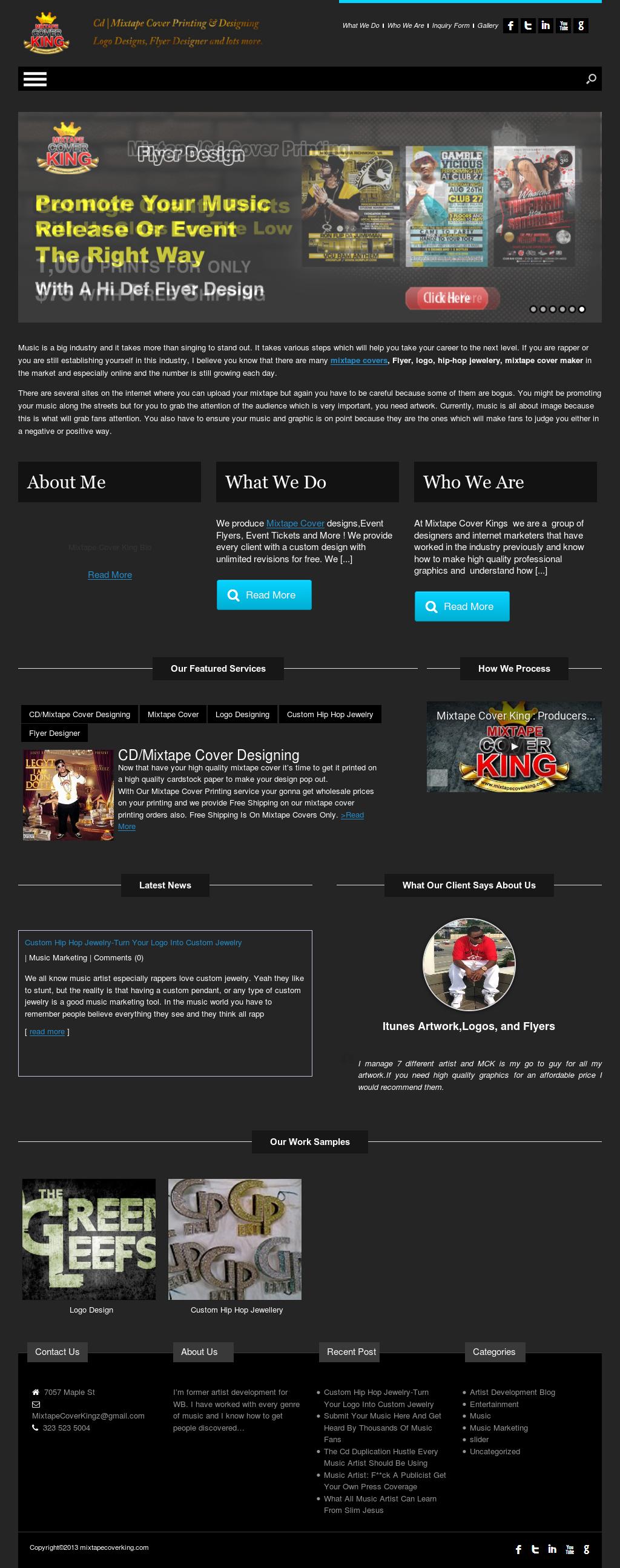 Mixtape Covers Logo Design Graphic Design Mixtape Cover Design Competitors Revenue And Employees Owler Company Profile