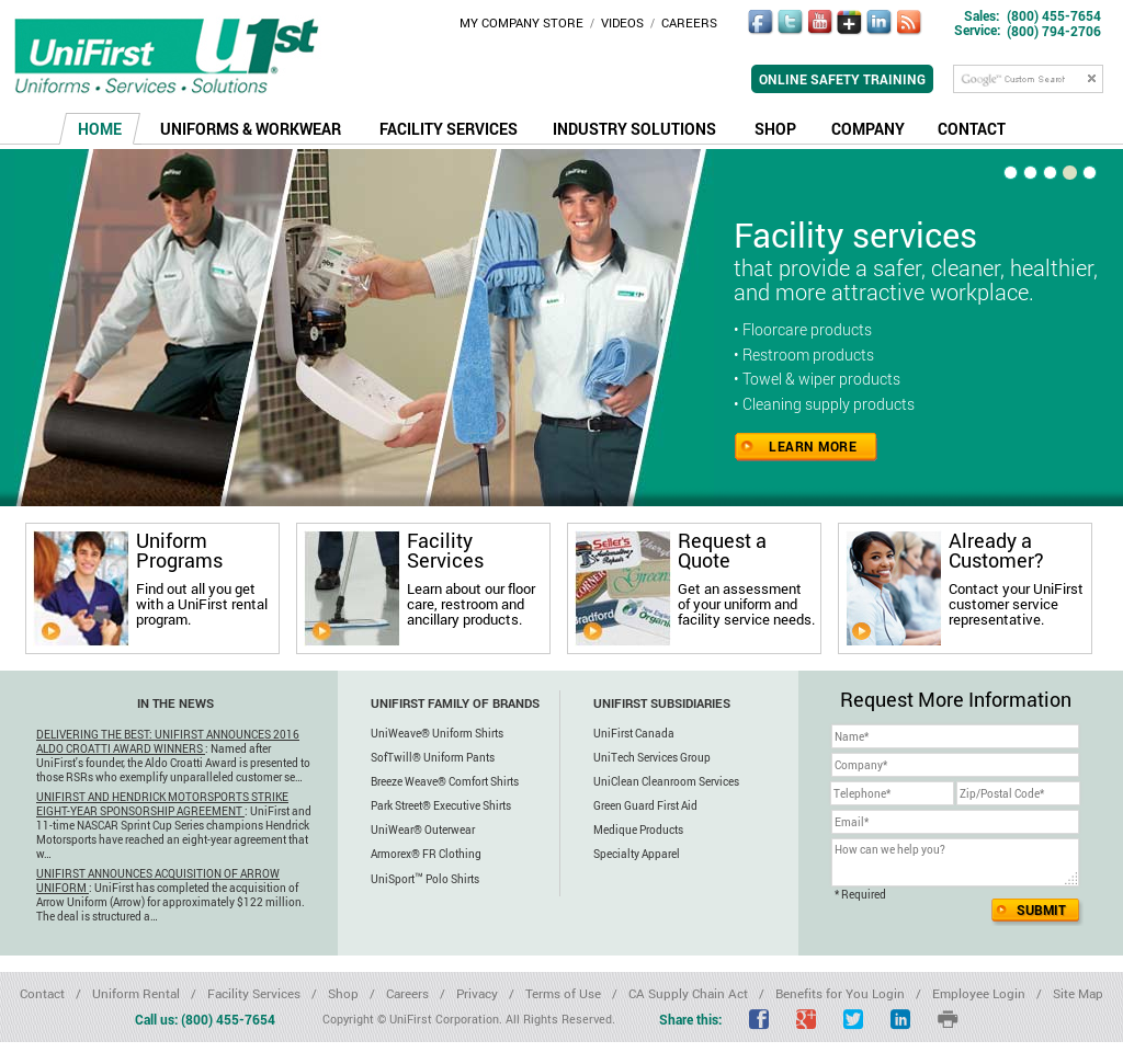 UniFirst Competitors, Revenue and Employees - Owler Company