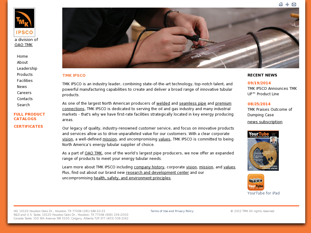 IPSCO Competitors, Revenue and Employees - Owler Company Profile