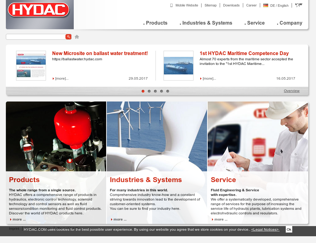 Hydac competitors revenue and employees owler company profile hydac website history sciox Images