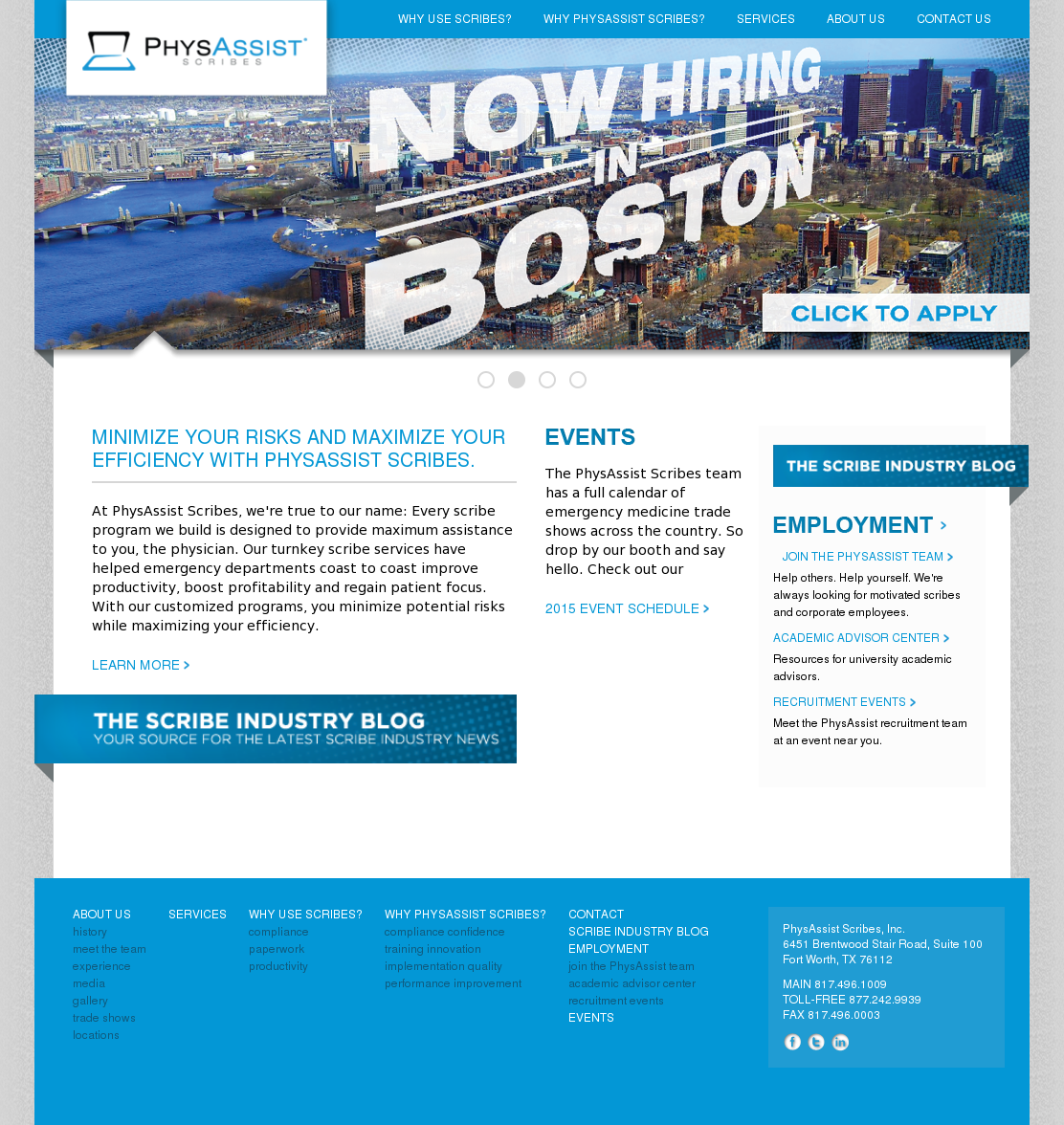 PhysAssist Scribes Competitors, Revenue and Employees