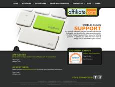 Affiliate website history