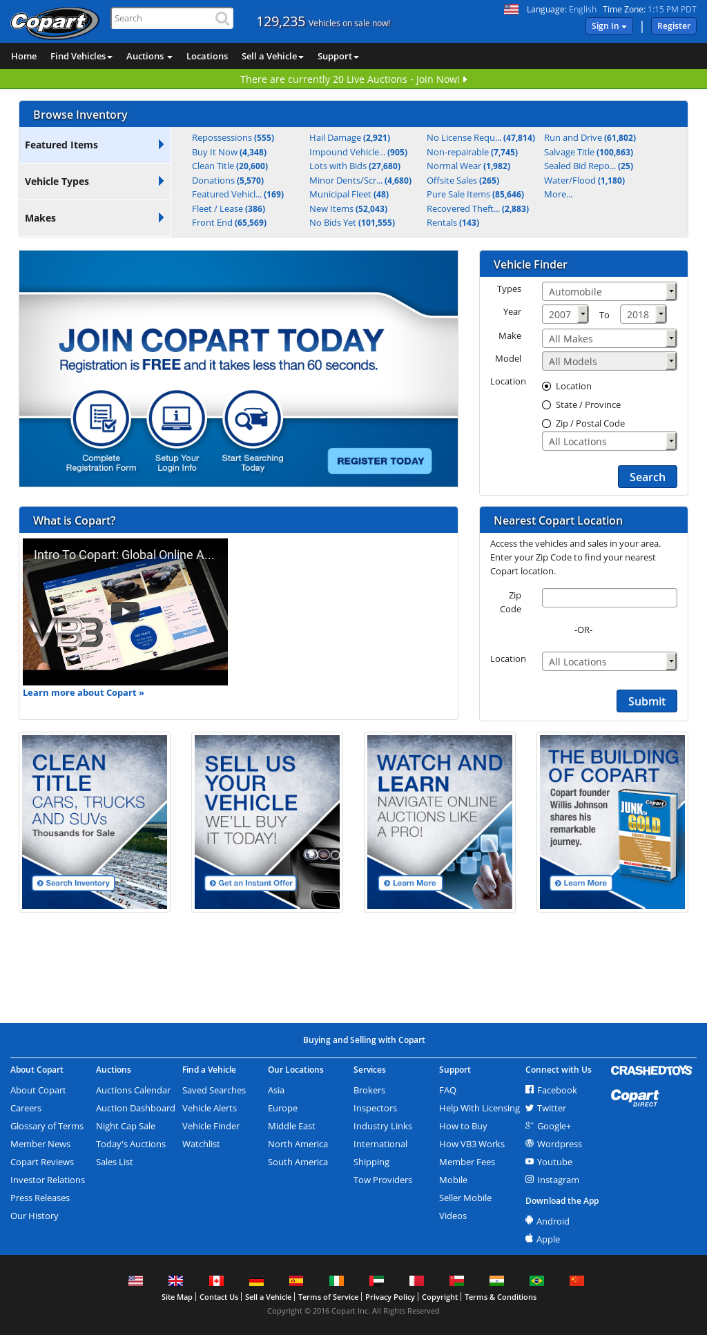 Copart Competitors, Revenue and Employees - Owler Company