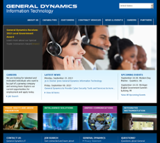 General Dynamics IT Competitors, Revenue and Employees